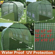 New Hot Green House Larger Walk In Outdoor Plant Gardening Greenhouse