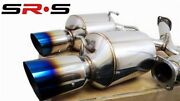 Srs Catback Exhaust Systems For 2013+scion Frs Gt86/subaru Brz 2.75 Burnt Tip