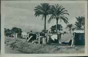 Egypt Kasfareet Officers Lido Vintage Silver Print. Photo Originated From A S