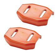 2 Snowblower Skid Shoes For Ariens 24599 Universal 2 Stage Snow Thrower Shoe