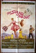 The Sound Of Music - Julie Andrews 1sht Org Musical Movie Poster 1965
