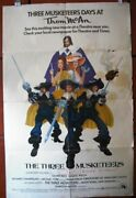The Three Musketeers Oliver Reed Original Vintage Movie Poster 70s