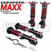 For Toyota Mr2 86-89 Godspeed Maxx Damper Coilovers Camber Plate Suspension Kit