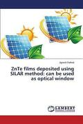 Znte Films Deposited Using Silar Method Can Be Used As Optical Window By Rathod