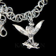 Tinkerbell Made With Crystal Tinker Bell Angel Fairy Bracelet Jewelry