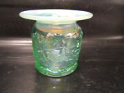 Acga American Carnival Glass Assn Seacoast Spittoon Lavender 2000 Parkersburg Wv
