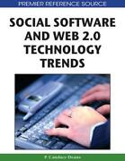 Social Software And Web 2.0 Technology Trends Blogs Podcasts And Wikis By P. C