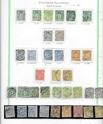 France Stamps 1876 Collection Of 36 Stamps/shades Cat.value 780