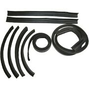 1969-1970 Chrysler Dodge Plymouth Convertible Roof Rail Weatherstrip Set