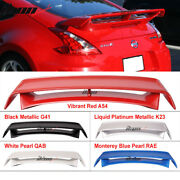 Fits 09-20 Nissan 370z N Style Style Painted Trunk Spoiler Color Wing - Abs