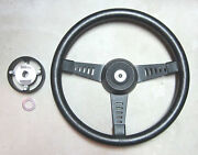 Springalex Ford Escort Bda Lotus 13 Steering Wheel W/ Hub And Horn Contact Used