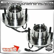 1 Pair 99 Ford F350 Truck 4wd Front Wheel Bearingandhub Assembly For Dual Rear Whl