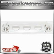 Billet Battery Tie Down For 92-00 Civic 02-05 Ep3 88-91 Crx 92-01 Prelude Silver