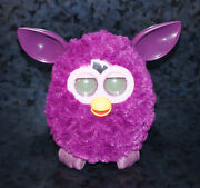 Furby Boom Electronic Interactive Pet Tiger Hasbro Hot Pink Game Plush Toy Works