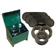 Easypro Pa66d Aeration Kit-1/2 Hp Compressor W/300and039 Airline-pond Up To 16and039 Deep
