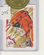 Iron Man - 1st One - Incentive Color Sketch Card By Bob Layton - Melter