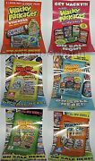 Wacky Packages All New Series Ans1,2,3,4,5,6,7, Flashback 1,2 Mini-poster Set