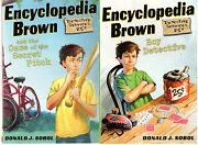 Complete Set Series - Lot Of 29 Encyclopedia Brown Books By Donald Sobol Ya
