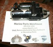 Good Working Used Mercruiser Starter 3.0 V-8 And Others Staggered Bolt Pattern