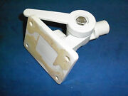 New Seachoice White Plastic Antenna Fits 7/8 1 Rails Been Mounted