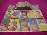 Topps Basketball Card Lot 1970 Maravich Rookie