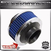 3 Performance Cold Air Intake Filter Valve For Universal Cars Blue