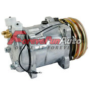 A/c Compressor And Clutch For Sanden Sd508 Jeep