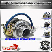 Gt28 .64 A/r Turbo Charger 350hp+ Upgrade For Nissan 240sx Ca18