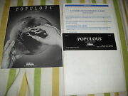 Electronic Arts Populous Ibm Pc Computer Video Game Tandy 1000 Family