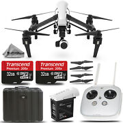 Dji Inspire 1 Quadcopter With 4k Camera And 3-axis Gimbal + Remote - 64gb Kit