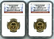 2009 P D Zachary Taylor Presidential Dollar Set Ngc Ms67 First Day Issue