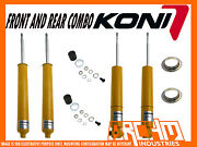 Holden Commodore Ve Ute Koni Sport Adjustable F And R Shock Absorbers