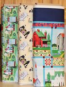 Jim Shore Village Farm Panel And Coordinating Fabric Sold Separately Bty