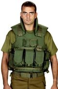 Hagor Tactical Body Armor Hpv-1600/50 Am Protection 3a Vest Idf Israel