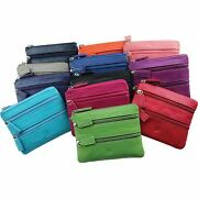 Prime Hide Soft Leather Coin Purse Great Choice Colourful Purses Pouch New Zip