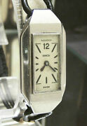 V Rare Jaeger Lecoultre 30and039s Vintage Antique Art Deco Ss Duoplan Serviced Works