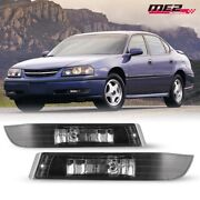 For 2000-2005 Chevy Impala Pair Oe Style Fit Fog Light Bumper Clear Lens