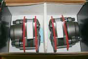 86-92 Lincoln Continental Brake Calipers Pads Set Ohio