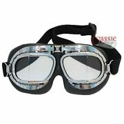 Cafe Racer Style Motorcycle Goggles