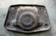 1961 Vw Karmann Ghia Engine Or Trans Mount Cover Plate Type 14 Used Orig 61
