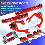 1992 1993 1994 1995 Civic Del Sol Lower Control Arms Integra Camber Kit 4 Sets