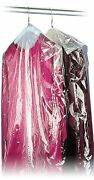 Interplas Gar-38 Clear Dry Cleaning Bags 38 Length 21 Width Case Of 663