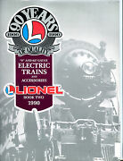 Lionel Electric Trains And Accessories 1990 Book Two 0 027 Gauge Ex 071016jhe2