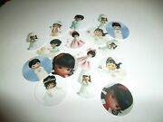 Pre Cut One Inch Bottle Cap Images African American Precious Moments Free Ship