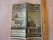 1939 New York Central Railroad Boston And Albany Banda Nycrr Brochure Timetable