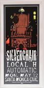 Taz Silverchair Local H Automatic Silkscreen Rock Concert Poster Signed Numbered