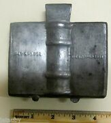 Antique E And Co. Ny Patd 1888 Candy Chocolate Mold Vintage Des. Coprd New York