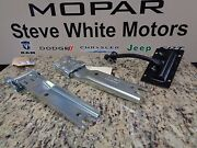 11-16 Jeep Wrangler New Tailgate Check Strap Retainer Arm And 2 Hinge Hinges Mopar