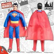 Mego Retro Superman 8 Inch Action Figure New Loose In Polybag 2014