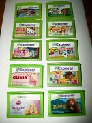 Huge Lot Of 10 Leap Frog Leapster Explorer Learning Games Disney Math And Reading